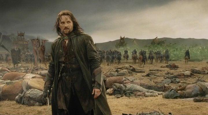Viggo Mortensen en 'El Señor de los anillos: El retorno del rey'