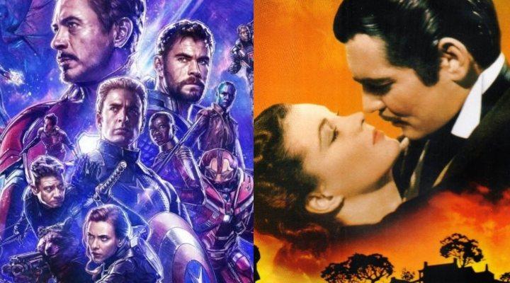 'Vengadores: Endgame' vs 'Lo que el viento se llevó'