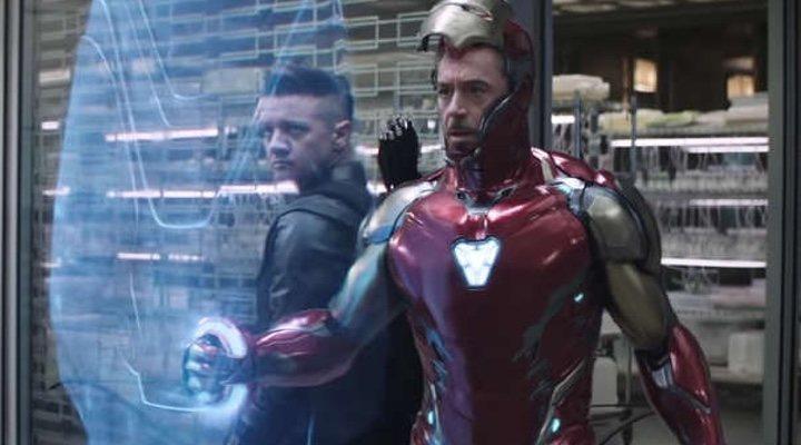 Iron Man y Ojo de Halcón 'Vengadores: Endgame'