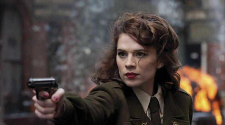 Peggy Carter en 'Capitán América: El Primer Vengador'