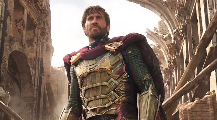Jake Gyllenhaal en 'Spider-Man: Lejos de Casa'