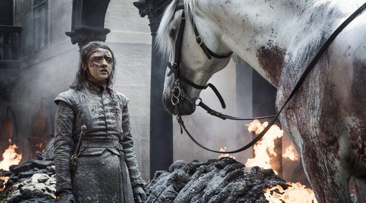 Arya en 'Juego de Tronos'