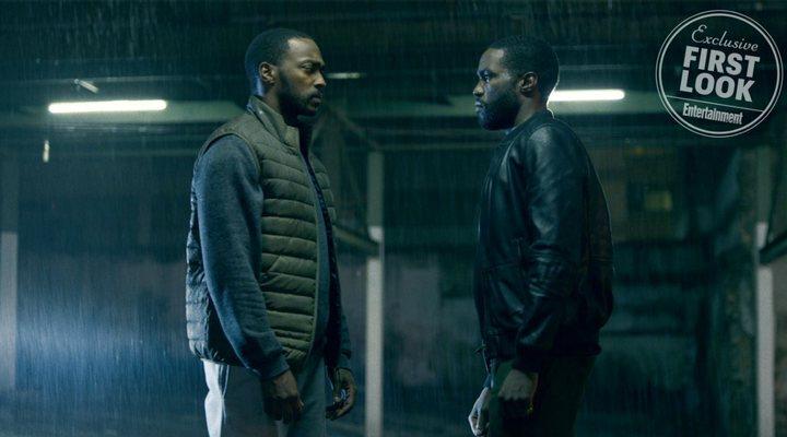 Anthony Mackie y Yahya Abdul-Mateen II en 'Black Mirror'