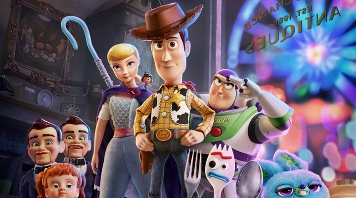 'Toy Story 4' cover