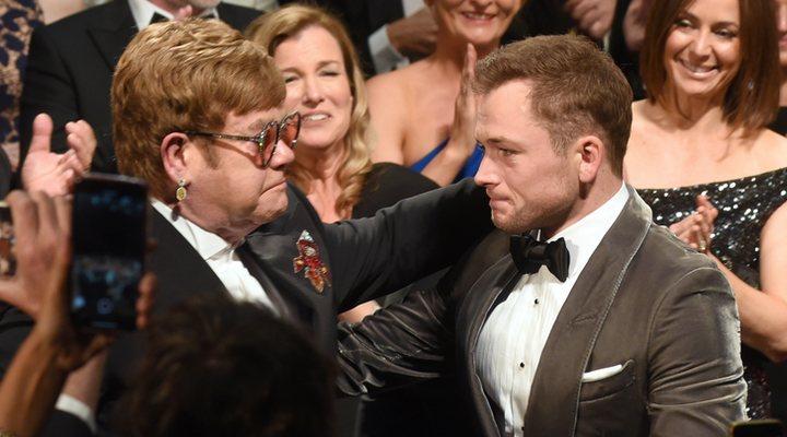 Elton John y Taron Egerton