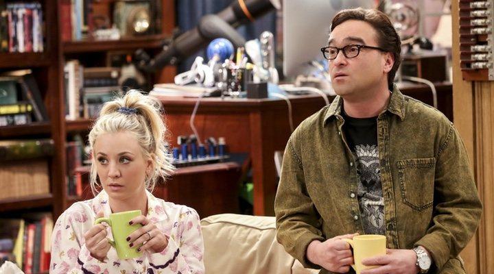 Penny y Leonard 'The Big Bang Theory'