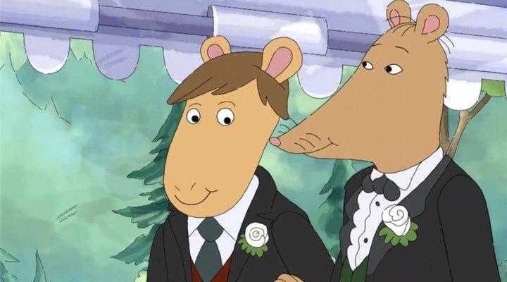 Sr.Ratburn boda gay 'Arthur' censurada