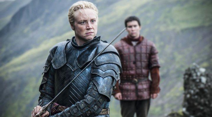 Gwendoline Christie como Brienne en 'Juego de Tronos'