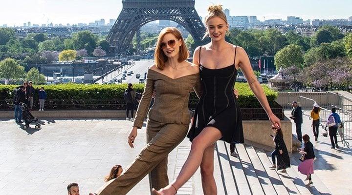 Jessica Chastain y Sophie Turner