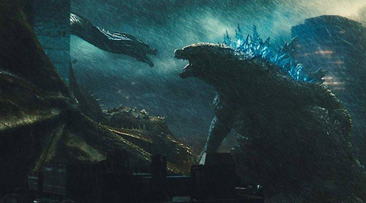 King Ghidorah y Godzilla en 'Godzilla: Rey de los monstruos'