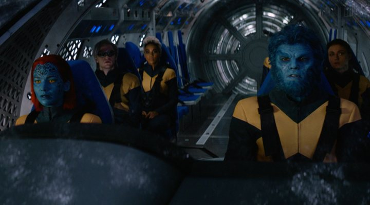 Los protagonistas de 'X-Men: Fénix Oscura'