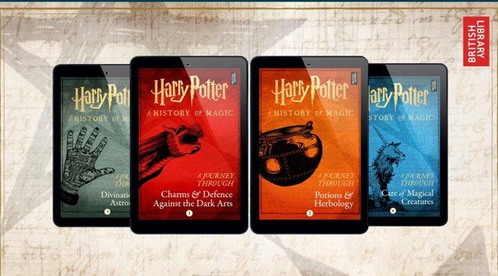 Pottermore y sus nuevos libros de Harry Potter