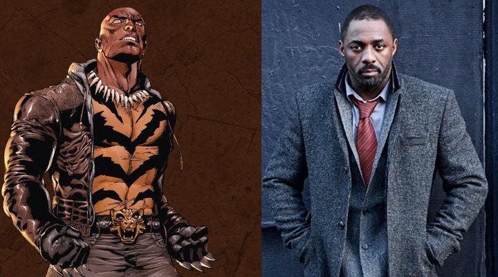 Idris Elba Tigre de Bronce