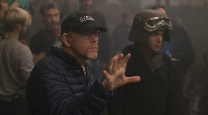 Ron Howard en el rodaje de 'Han Solo: Una historia de Star Wars'