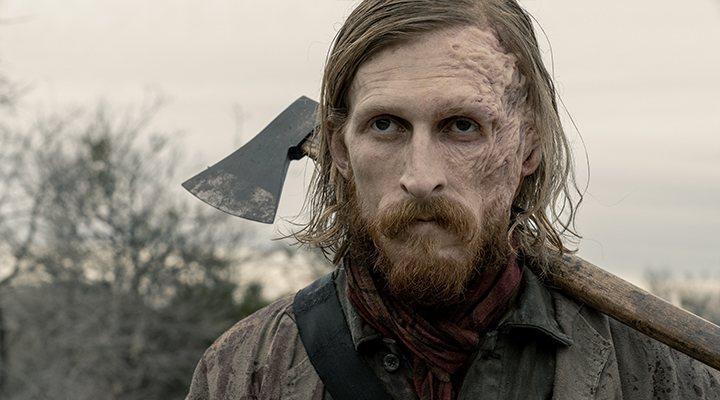 Austin Amelio en 'Fear the Walking Dead'
