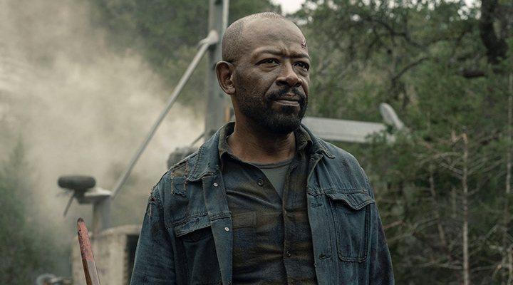 Lennie James en 'Fear the Walking Dead'