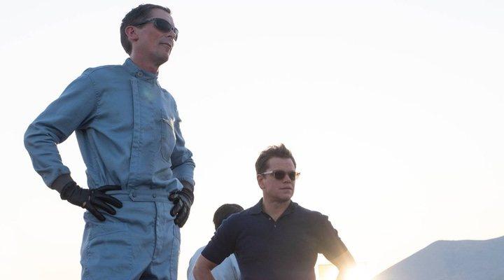 Christian Bale y Matt Damon en 'Le Mans '66'