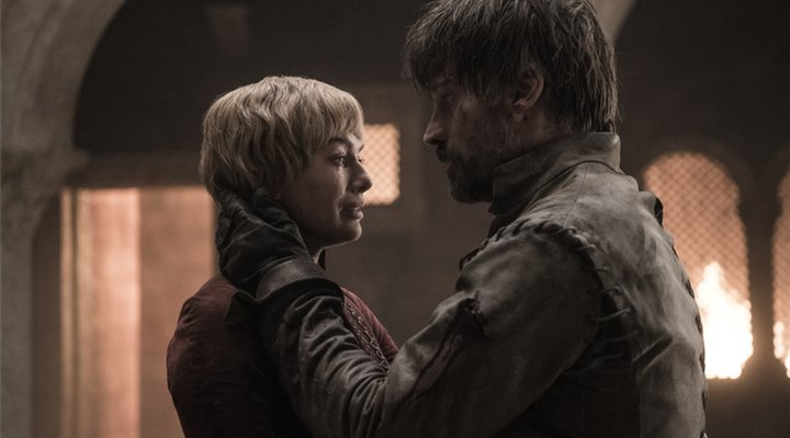 Juego de Tronos Jaime Cersei final