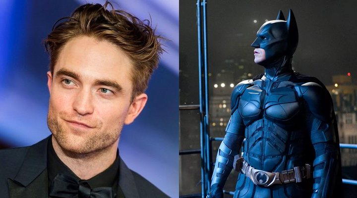 Robert Pattinson y Christian Bale como Batman