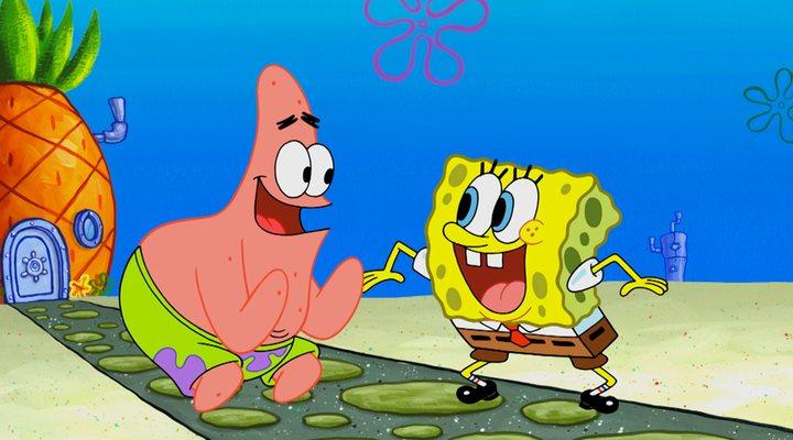 Bob Esponja y Patricio en 'Bob Esponja'