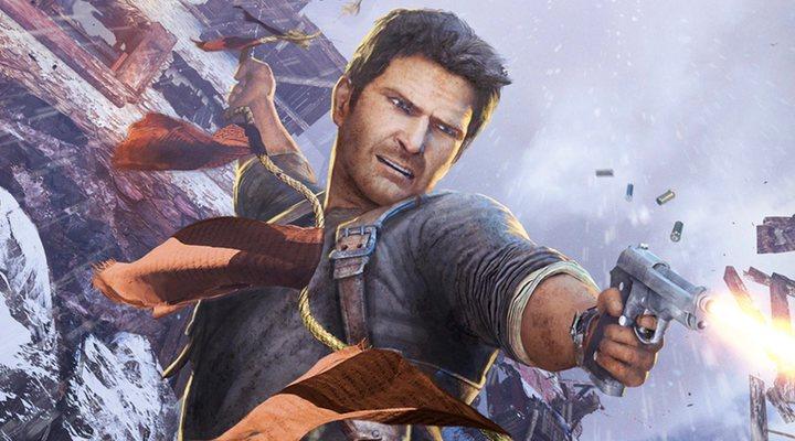 Nathan Drake en los videojuegos de 'Uncharted'