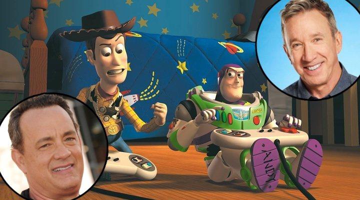 Tom Hanks y Tim Allen a.k.a Woody y Buzz en 'Toy Story'