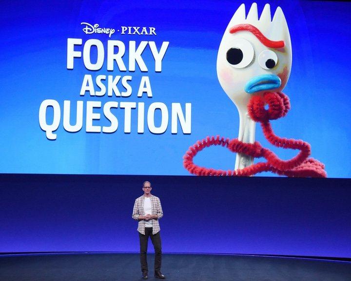 Forky de 'Toy Story 4'