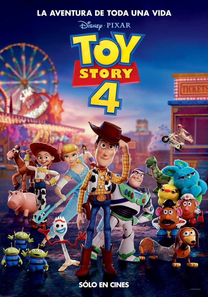 Cartel 'Toy Story 4'