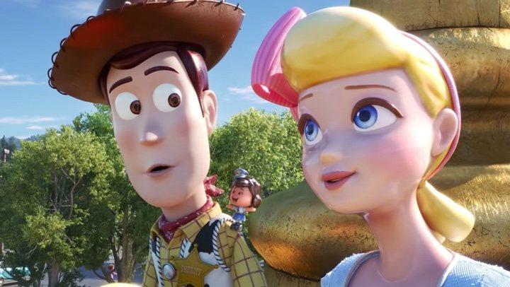 Woody y Bo Peep, 'Toy Story 4'