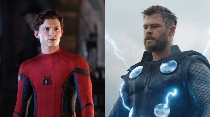 Spider-Man y Thor