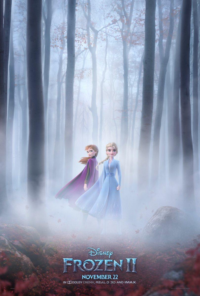 'Frozen 2' Anna y Elsa nuevo póster tráiler mañana