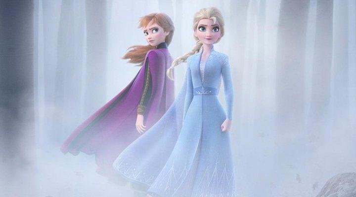 Elsa y Anna en el nuevo póster de 'Frozen 2'