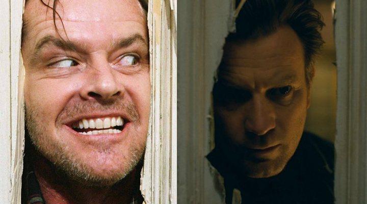 Jack Nicholson en 'El resplandor' e Ewan McGregor en 'Doctor Sueño'