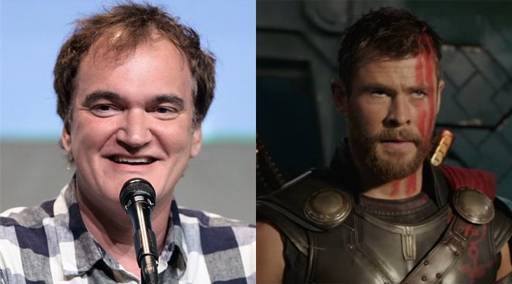Quentin Tarantino y 'Thor: Ragnarok'