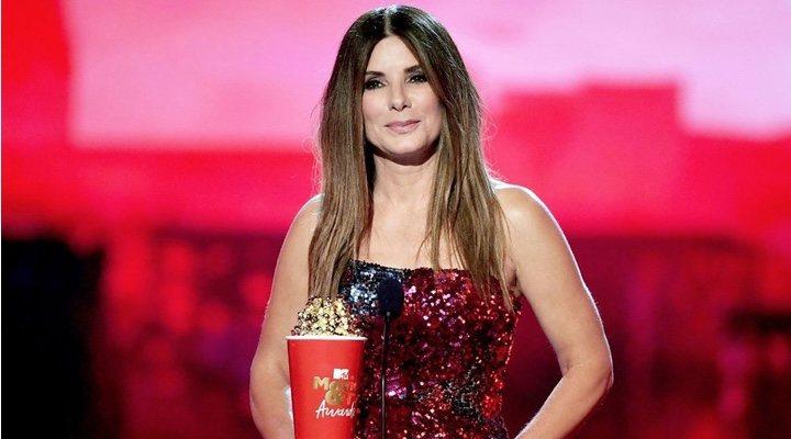 Sandra Bullock en los MTV Movie & TV Awards