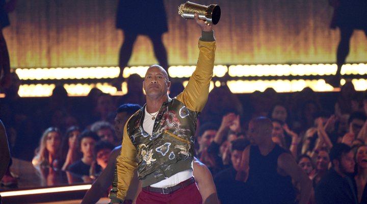 Dwayne Johnson en los MTV Awards