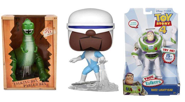 Texto merchandising 'Toy Story' y 'Los increíbles'