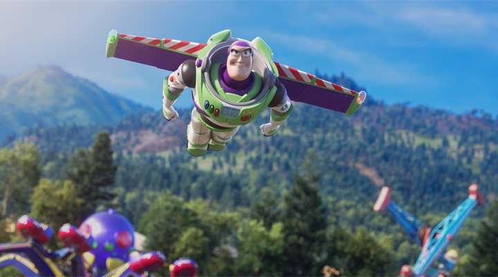 Buzz Lightyear en un fotograma de 'Toy Story 4'