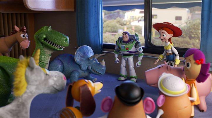 Los juguetes en 'Toy Story 4'