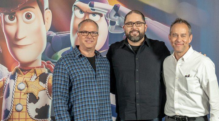 Mark Nielsen, Josh Cooley y Jonas Rivera