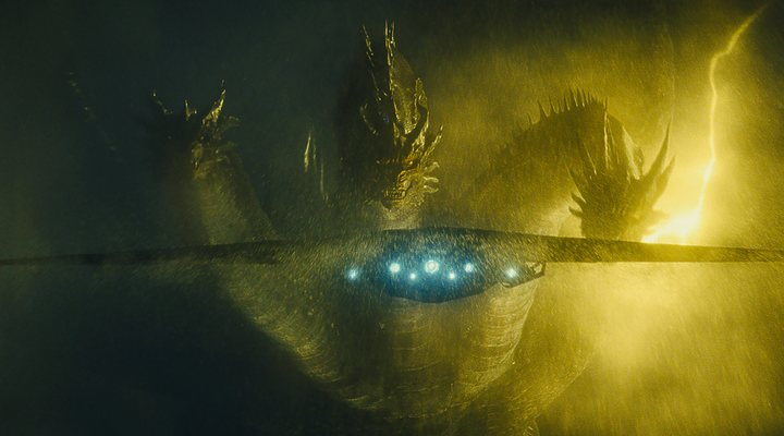 King Ghidorah en 'Godzilla: Rey de los Monstruos'