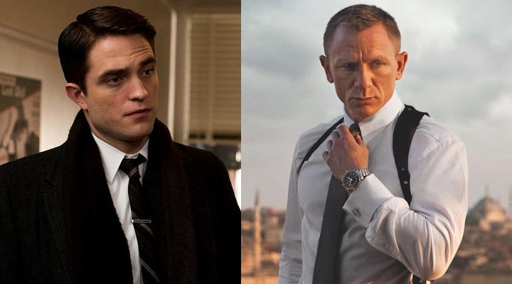 Robert Pattinson y Daniel Craig
