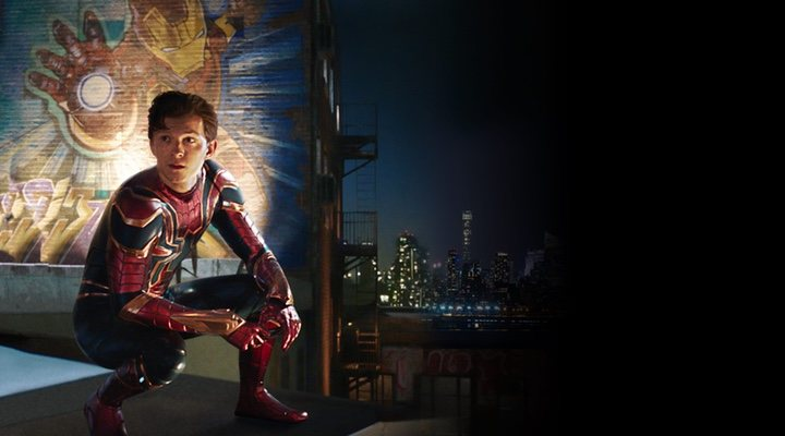 Tom Holland y Samuel L. Jackson en 'Spider-Man: Lejos de Casa'