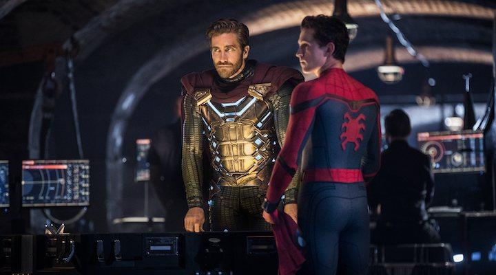 Mysterio y Peter Parker