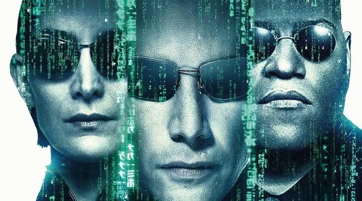 Trinity, Neo y Morfeo en 'Matrix'