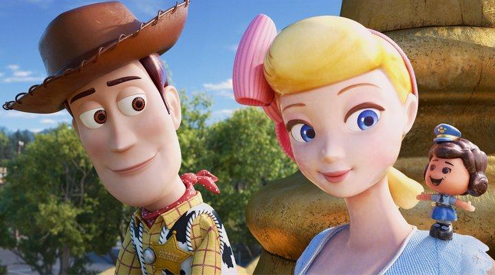 Woody y Bo Peep