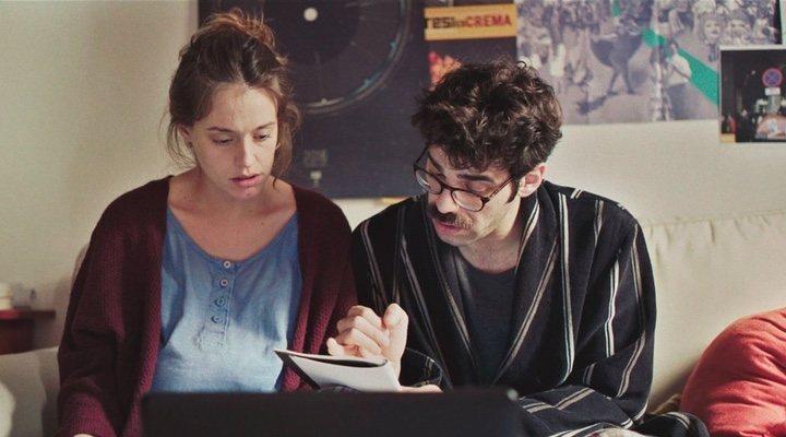 María Rodríguez Soto y David Verdaguer en 'Los Días que Vendrán'