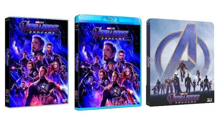 'Vengadores: Endgame' en DVD, Blu-ray y Steelbook