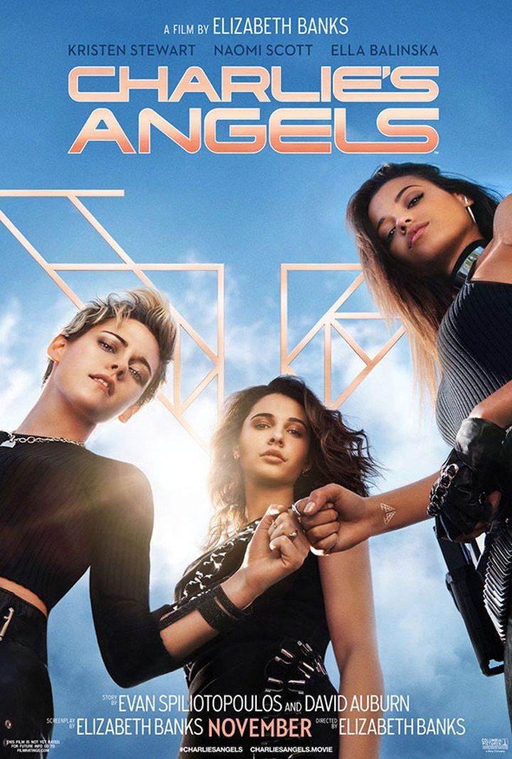 poster los ángeles de charlie
