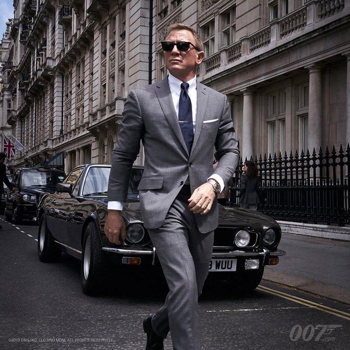 Daniel Craig en 'Bond 25'